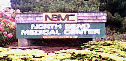 North Bend Medical Center sign